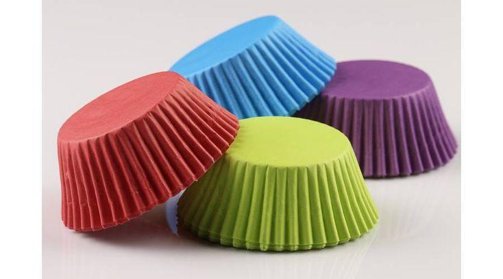Élénk színű muffin papír 80 db - Süss Velem.com