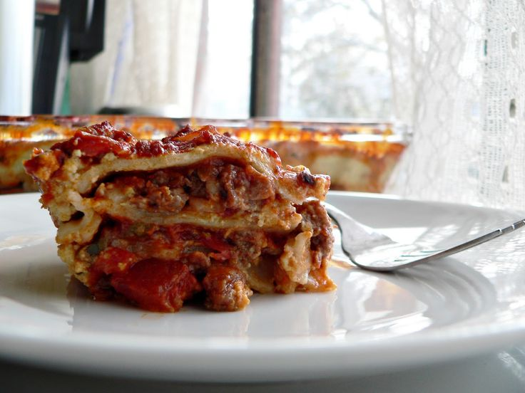 Kick Ass Lasagna (Gluten Free and Dairy Free). Uses Cashew Cream Ricotta so it's soy free too. Used a Cashew Cream for a dessert at Christmas and it was FABULOUS. Will have to try this.