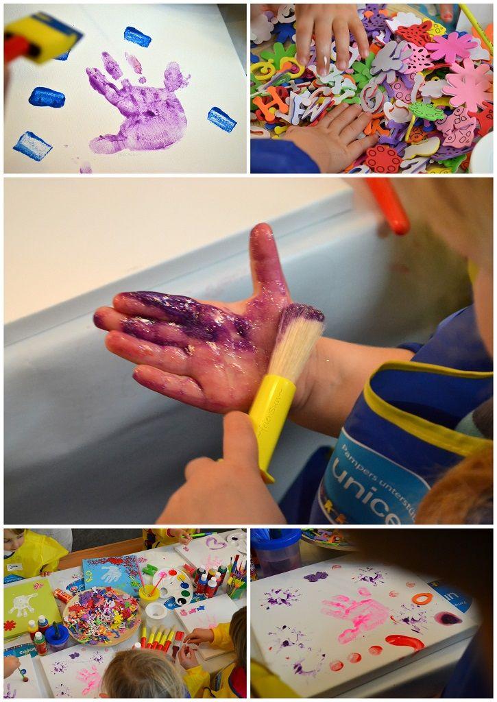 Was die Motte hier wieder angestellt hat, dass haben wir nun endlich auch mal verbloggt.  #Pampers #Basteln #Hände #Collin #UNICEF  http://feiersun.de/2015/01/pampers-unicef-collien-ulmen-fernandes/