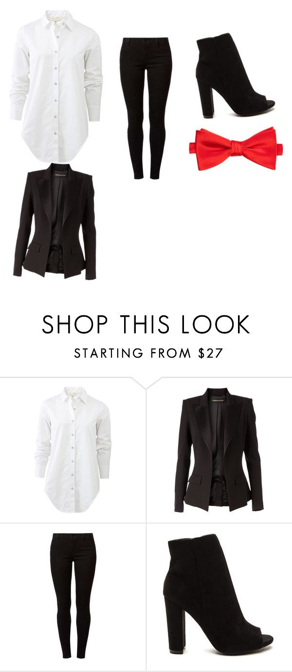 """""""jigsaw costume outfit"""" by bailey-lytle on Polyvore featuring beauty, rag & bone, Alexandre Vauthier, Dorothy Perkins and Saddlebred"""