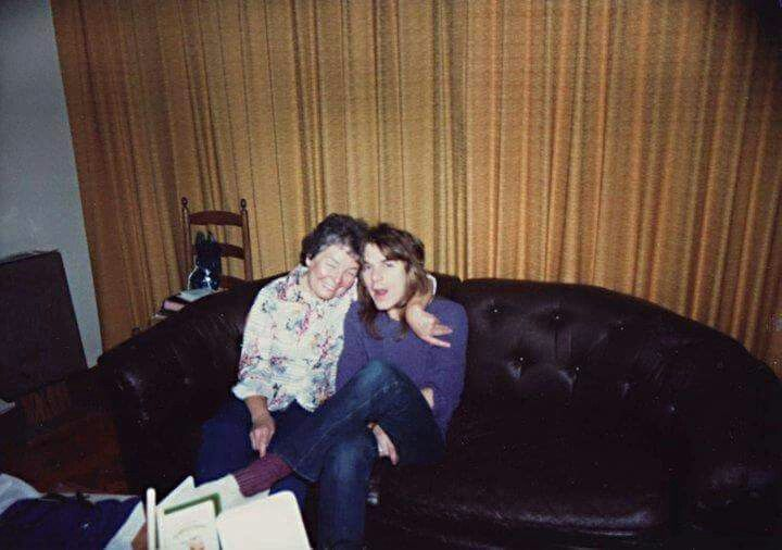 RANDY AND HIS MOTHER DELORES | ~RANDY RHOADS~ | Pinterest ...