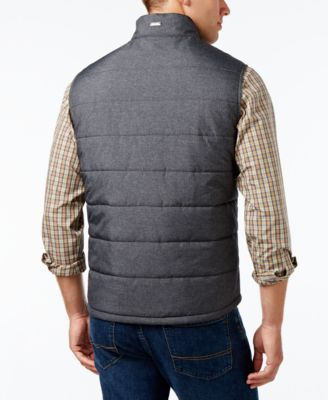 Tommy Bahama Men's Cavill Quilted Vest - Gray XXL