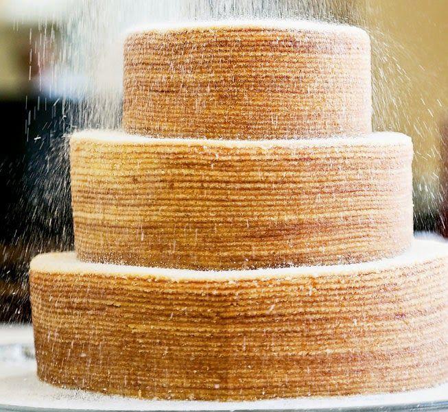 Bolo de Casamento de bolo de rolo
