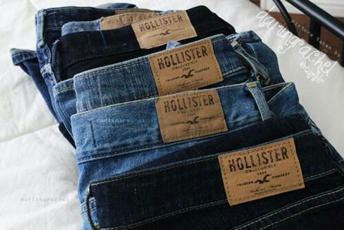 Need some new jeans & Hollister fit the best. Voucher?
