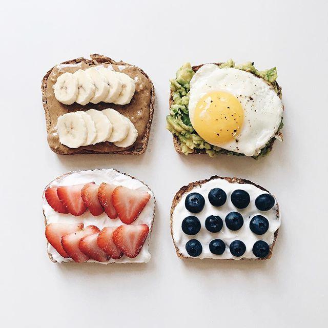 Instagram media thepinkdiary - <morning toast>