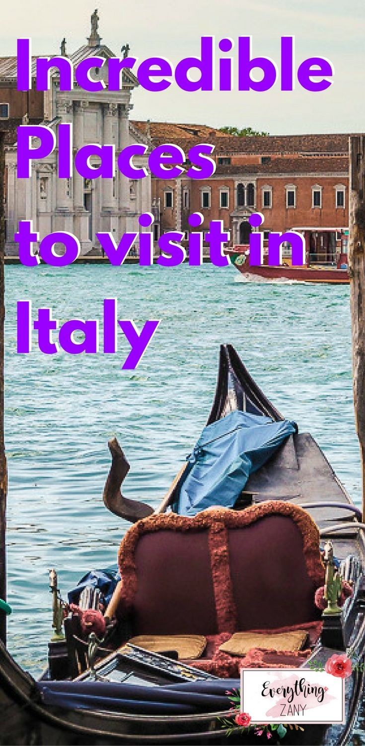5 Incredible Places to Visit in Italy  You can never run out of places to visit in Italy. The country is blessed with beautiful architecture, history, good food and great wine!  I'm already sold!  Last spring, I travelled from Naples to the Lake District of Northern Italy with my husband and friends. We had an absolutely fabulous time exploring the country. So let me share with you the places we've in Italy been during this trip.