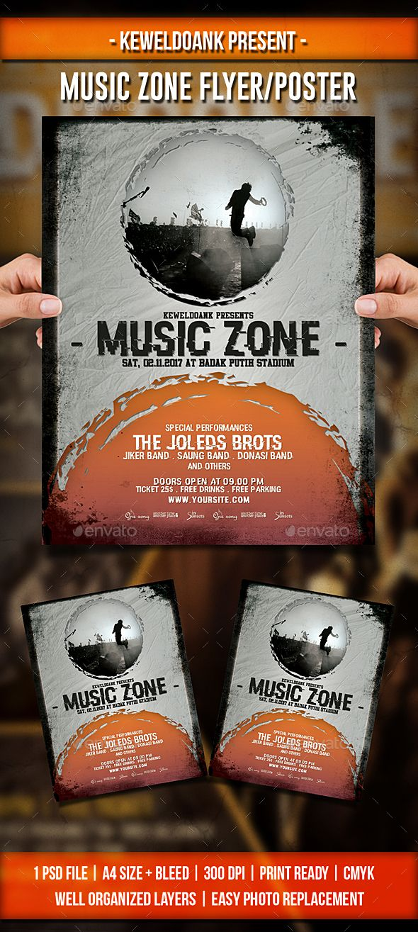 Music Zone Flyer / Poster