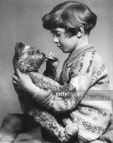 Christopher Robin Milne 1920 - 1996 English novelist son of Alan Alexander Milne who inspired the story Winnie the Pooh photo by Adam Marcus 1928...
