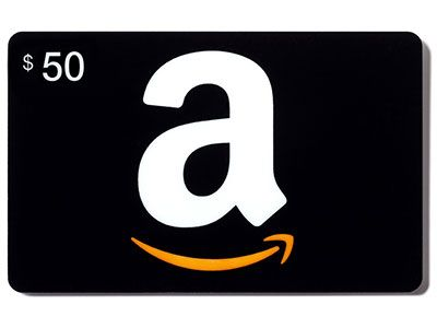 Win 1 of 2 $50 Amazon Gift Cards