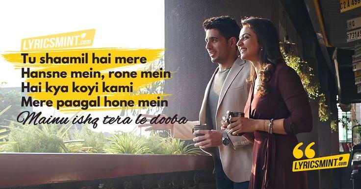 Lae Dooba Lyrics - Aiyaary starring Sidharth Malhotra, Rakul Preet Singh, sung by Sunidhi Chauhan, composed by Rochak Kohli, penned by Manoj Muntashir.