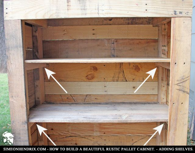 50 best how to build beautiful rustic pallet cabinet for Making cabinets out of pallets