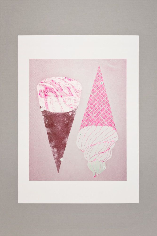 Image of Gelatology - Risograph Print / 005