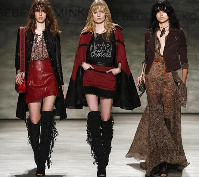 Rebecca Minkoff Fall/Winter 2015-2016 Collection - New York ...