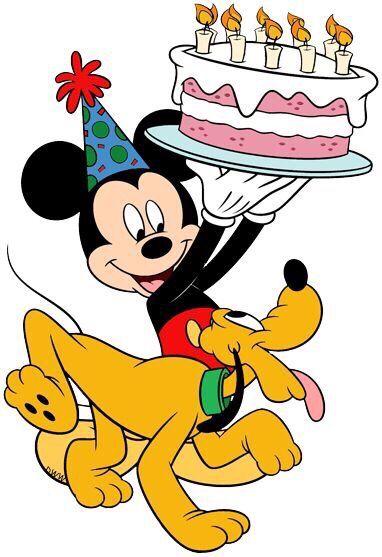 Disney birthday card image by LaLa on M w/ Pluto ...