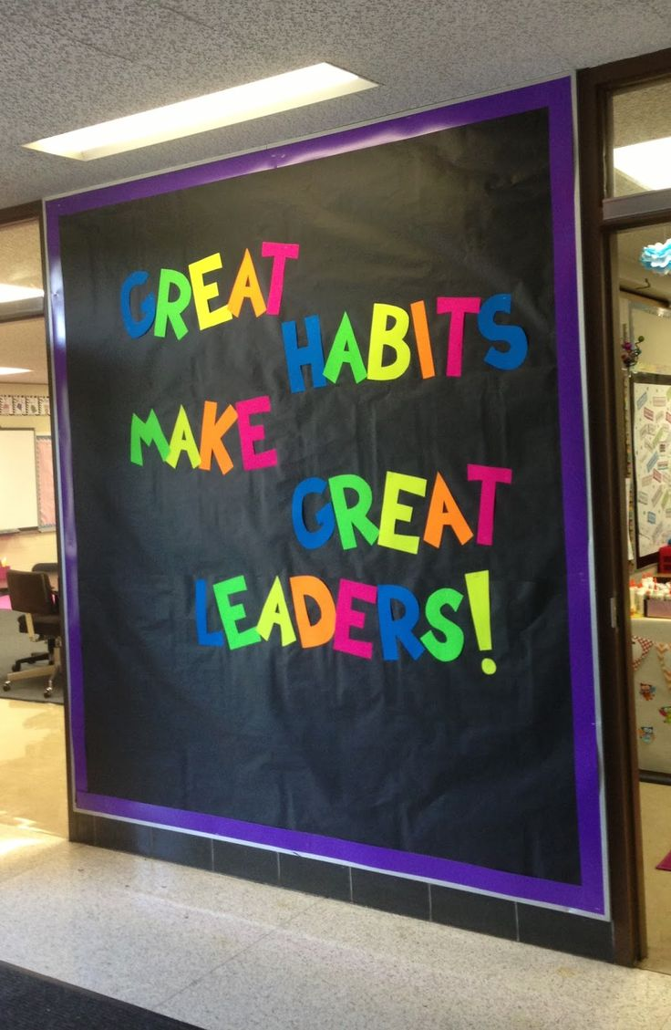 back to school bulletin boards leadership - Google Search