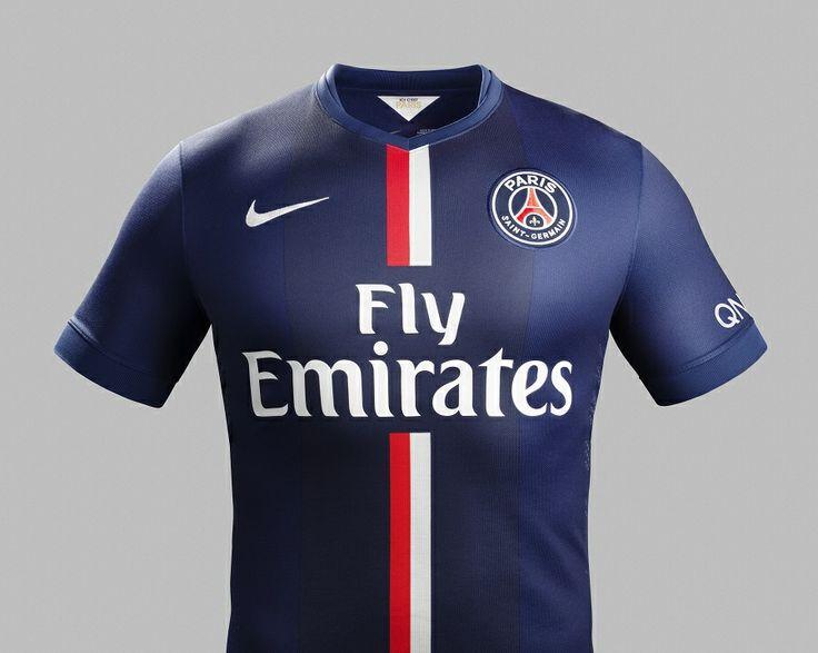 Le nouveau maillot du PSG!