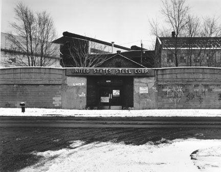 Closed Gates at U.S. Steel Southworks Steel Mill, South ChicagoIska, James1986