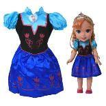 My First Disney Princess Frozen Anna Doll Dress Up - £44.99 - Toys R Us