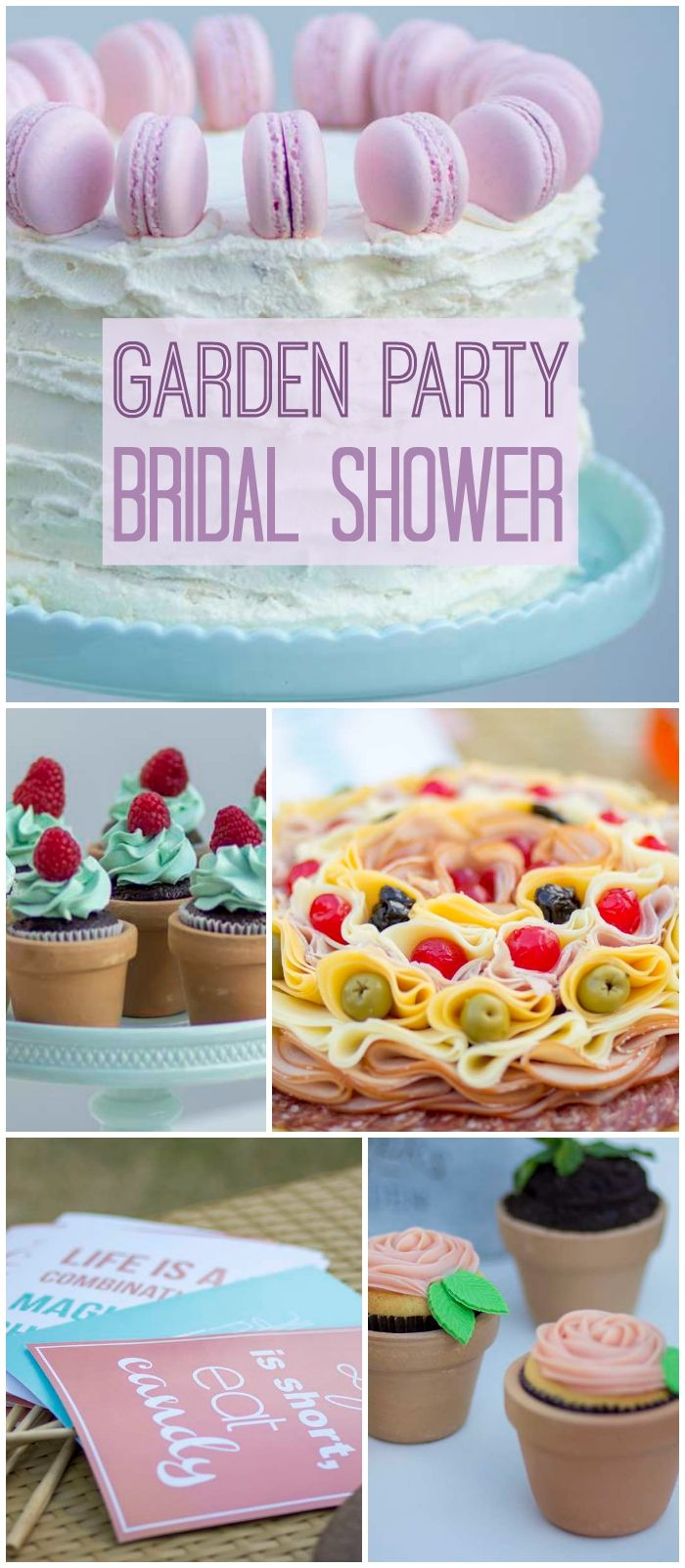 Garden party bridal shower quotgarden party bridal shower for Garden party bridal shower