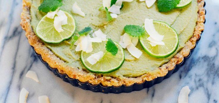 Limettipiirakka eli Key Lime Pie
