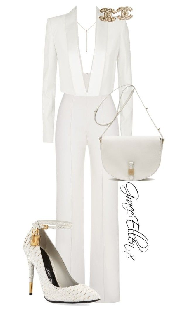 Untitled #72 by miss-grace-ellen on Polyvore featuring polyvore fashion style BCBGMAXAZRIA Yves Saint Laurent Tom Ford Mulberry Chanel Diamond Star clothing