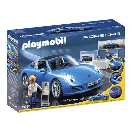 LUKAS.  Playmobil Sports & Action 5991 Porsche 911 Targa 4S