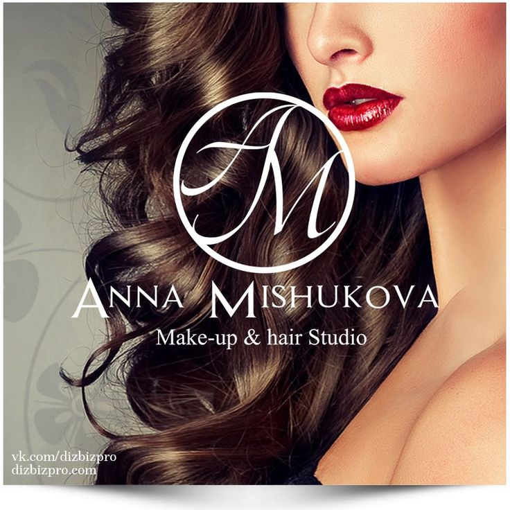Разработка логотипа для make-up & hair studio Анны Мишуковой  #dizbizpro #dizbizprocom #СозданиеЛоготипа #РазработкаЛоготипа #ДизайнЛоготипа #ФирменныйСтиль #Логотип #ЗаказатьЛоготип #logo #ВебСтудия #СтудияВебДизайна