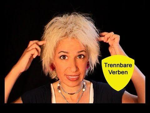 """Deutsche Grammatik: """"Trennbare Verben"""" (mit Sonja Hubmann) - YouTube"""