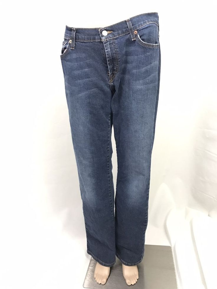 Lucky Brand Dungarees Jeans Classic Fit Regular Length Button Fly Size 30  | eBay