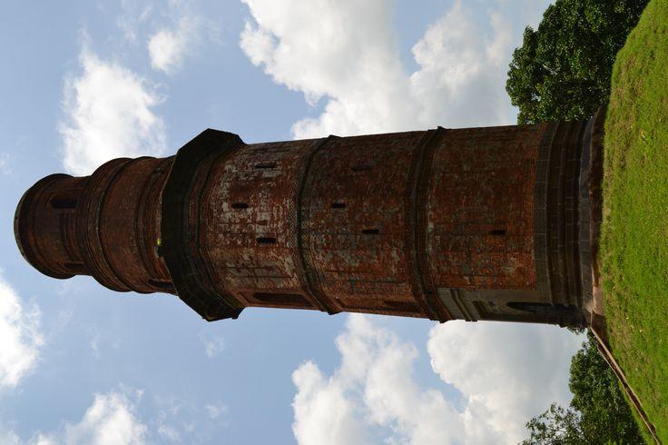 firoz minar , gaur west bengal india