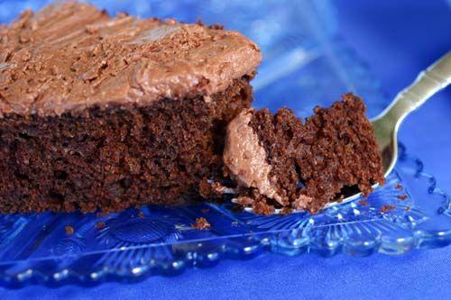 Sjokoladekake uten egg med søtpotet og avokado - http://sunndessert.no/sjokoladekake-uten-egg-sotpotet/