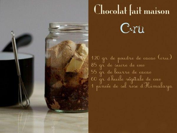 Faire son chocolat cru maison les bienfaits du cacao cru - Les bienfaits du stepper ...