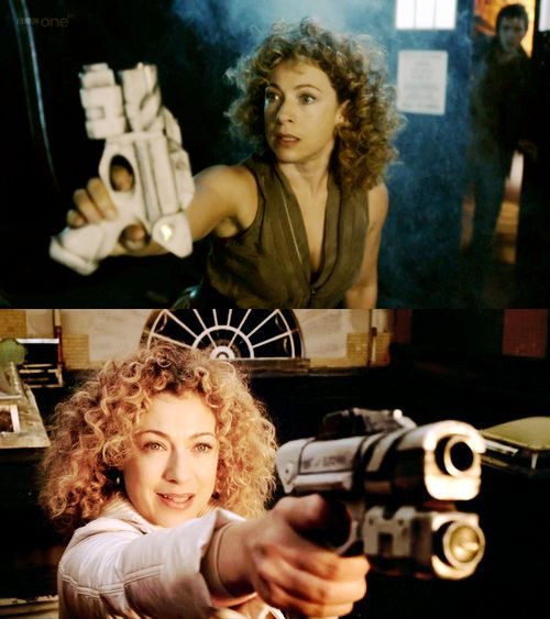 River Song Alpha Meson Blaster