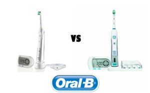 Oral-B Healthy Clean 5000 vs Oral-B Triumph 5000. See the small differences.