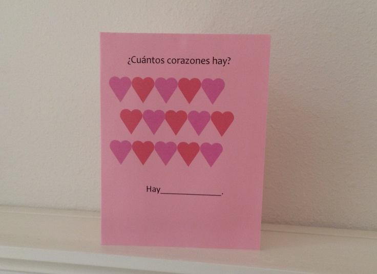 32 best Valentines Spanish Resources for Kids images – Valentines Cards in Spanish