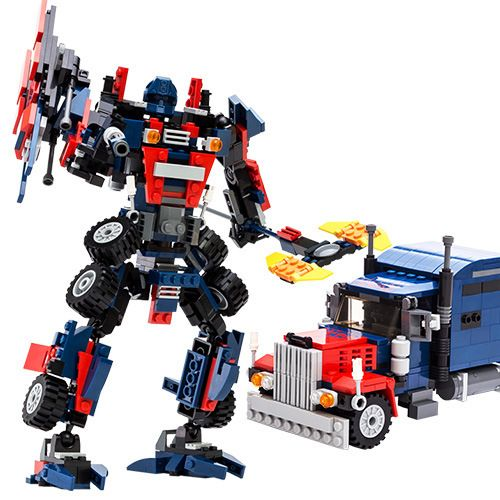 2015 New 377pcs optimus prime Transformation Robot 3D DIY building blocks sets enlighten children toys Lepin Compatible SA523 //Price: $18.41 & FREE Shipping //     #hashtag3
