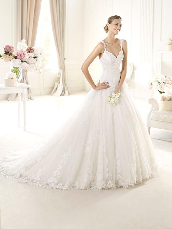 2014 pronovias wedding gown http://www.weddingchicks.com/2013/10/28/pronovias-2014-bridal-collections/