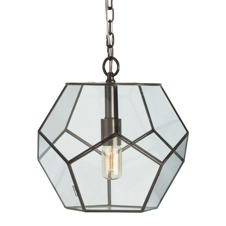 via BKLYN contessa :: Arteriors Tenley Small Faceted Pendant