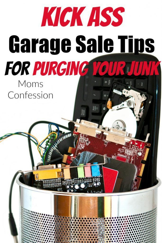 Garage Sale Tips like ours are sure to help you make money and get rid of all the jun stacked up in your home! It's easy to host a great garage sale with our simple tips!