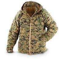 U.S. Military Surplus Marpat Level 7 ECW Hooded Combat Jacket, New