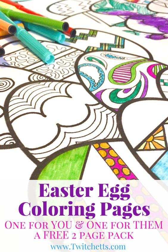 Easter Colouring Pages For Kindergarten : The 25 best easter egg coloring pages ideas on pinterest