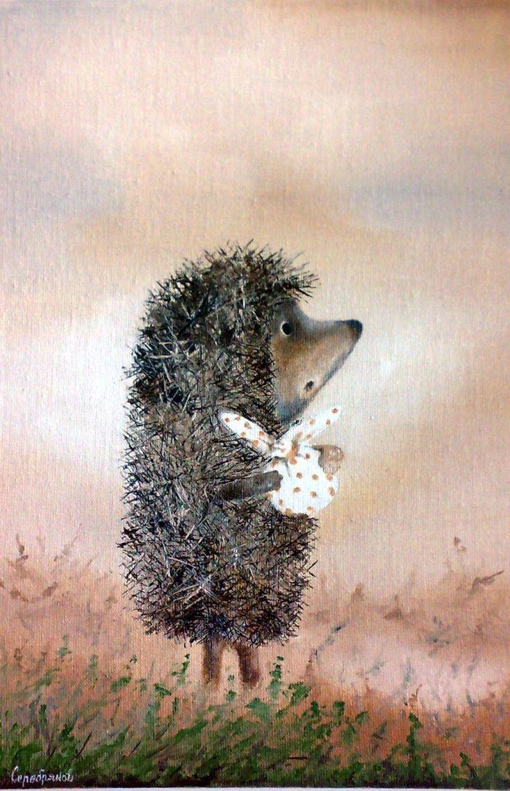 Hedgehog in the Fog - book and animated film by writer Sergey Kozlov and animator Yuriy Norshteyn