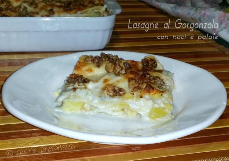 Le lasagne al Gorgonzola con noci e patate sono un primo piatto particolarmente indicato per i giorni di festa. Non occorre molto tempo per preparare.......