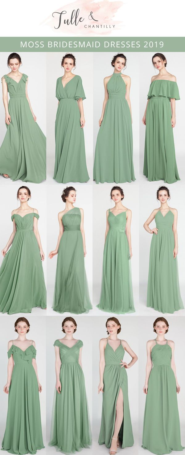 Moss Long & Short Bridesmaid Dresses from $89.9 and 100+ Colors 1