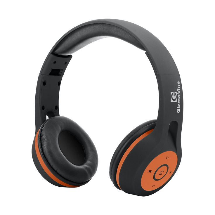 GizmoVine Bluetooth Wireless Headset with Mic Stereo over Ear Headphones Hands-Free Calling Earphones for iPhone 6 6s Plus , Samsung Galaxy S6 S5 S7 Edge and other Smartphones (Black / Orange). Better Sound Quality with Improved Equalization: the powerful Bluetooth headphones support a working range of up to 33 feet and feature closed protein Over Ear Cushions to deliver a very comfortable listening experience on the go. Quick & Fast Charging: the Bluetooth wireless headphones combine…