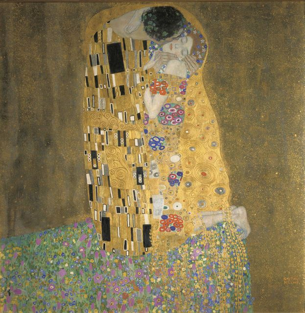 best 25 gustav klimt der kuss ideas on pinterest. Black Bedroom Furniture Sets. Home Design Ideas