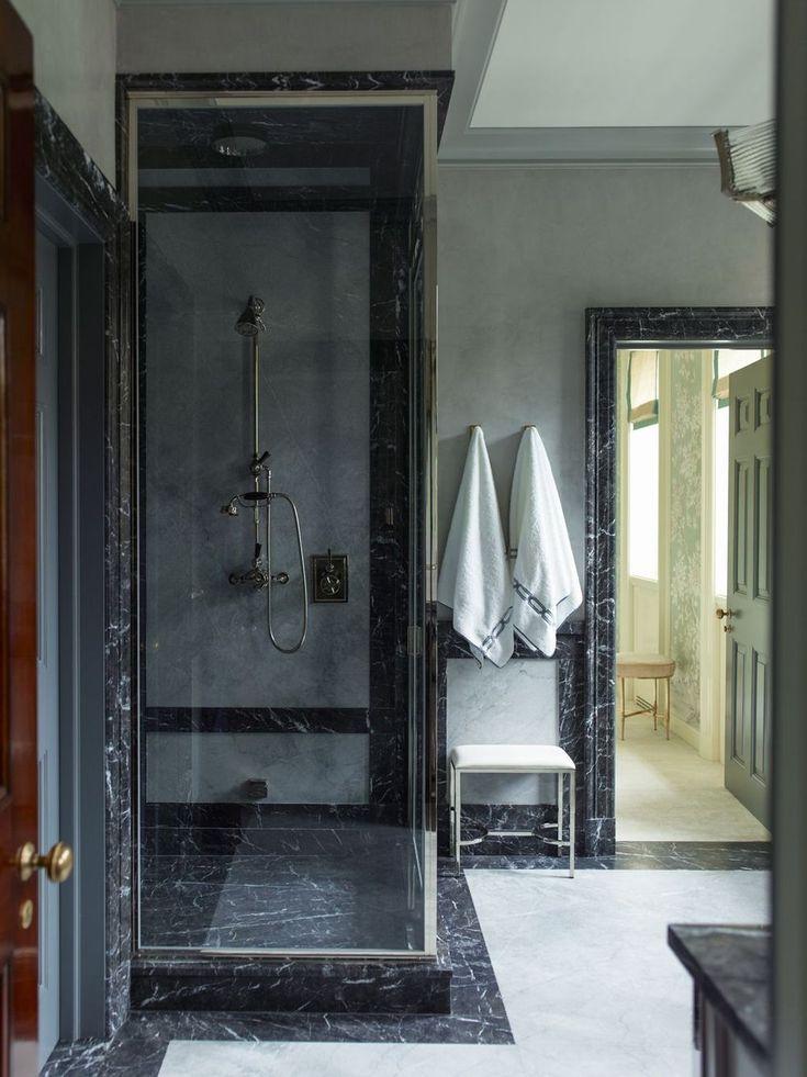 48 stunning black marble bathroom design ideas bathroom - Black marble bathroom accessories ...