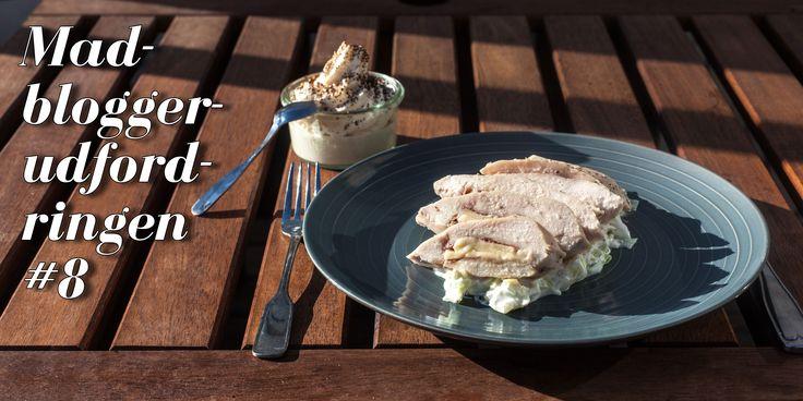 Sous vide cordon bleu med hvidkålstzatziki og skyr panna cotta med hvid chokolademousse - https://foodgeek.dk/da/sous-vide-cordon-bleu-med-hvidkalstzatziki-og-skyr-panna-cotta-med-hvid-chokolademousse/