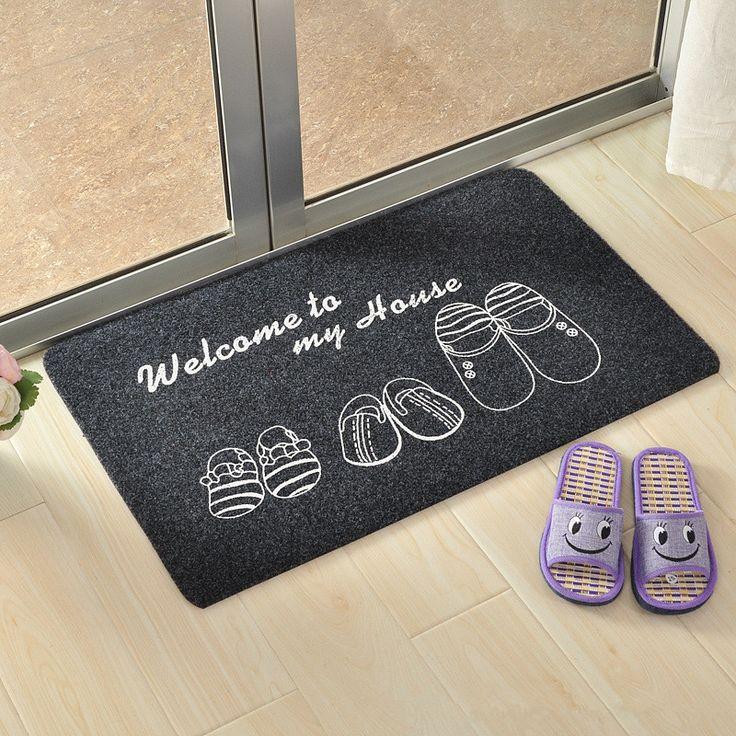 >> Click to Buy << 40cmx60cm Home Supplies Carpets Door Mats Outdoor Home Living Room Entrance Door Mats Absorbent Non-slip Welcome Door Mat #Affiliate