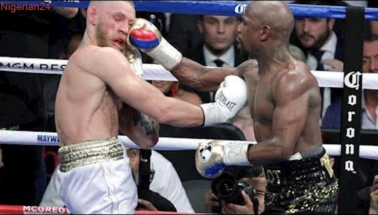 FLOYD MAYWEATHER BEATS CONOR MCGREGOR IN 10TH ROUND KNOCKOUT!